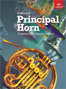 ABRSM: Principal Horn (grades 6-8) with CD