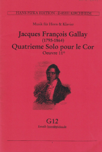Gallay: Solo Piece No.4 Op.11