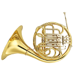 Yamaha YHR567D Full Double French Horn
