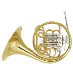 Yamaha YHR671 Full Double French Horn