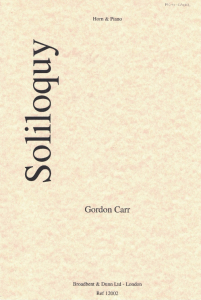 Carr: Soliloquy