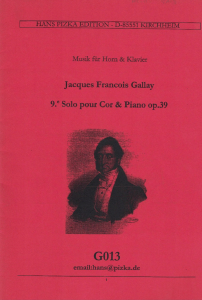 Gallay: Solo Piece No.9 Op.39