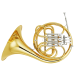 Yamaha YHR320 Single French Horn in Bb