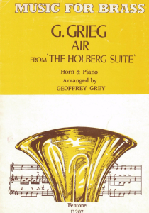 Grieg: Air from The Holberg Suite