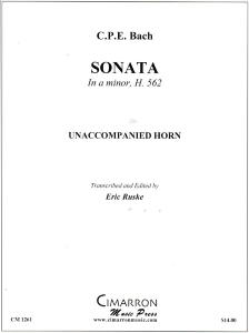 CPE Bach: Sonata in A Minor