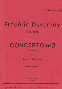 Duvernoy: Concerto No.3 in F