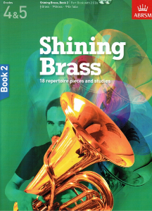 ABRSM: Shining Brass Book 2 (grades 4-5) with CD