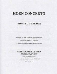 Gregson: Horn Concerto F