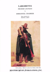 Chabrier: Larghetto
