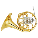 Yamaha YHR314 Single French Horn in F