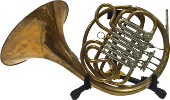 Pre-Owned Alexander Model 93 Single French Horn in F with Stopping Valve