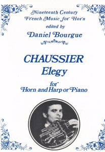 Chaussier: Elegy for Horn and Harp