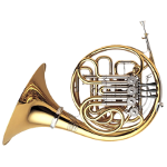 Yamaha YHR891D Full Triple French Horn