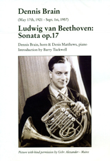 DVD - Dennis Brain plays Beethoven