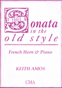 Amos: Sonata in the Old Style