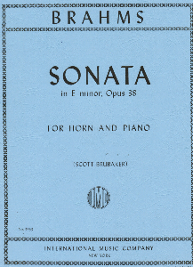 Brahms: Sonata in E Minor Op.38