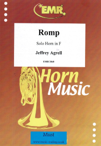 Agrell: Romp for Solo Horn