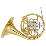 Yamaha YHR671D Full Double French Horn