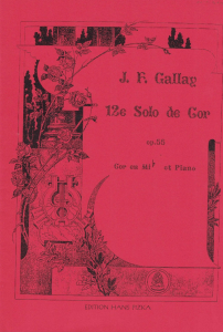 Gallay: Solo Piece No.12 Op.55