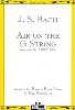Bach: Air on the G String for Horn and Piano